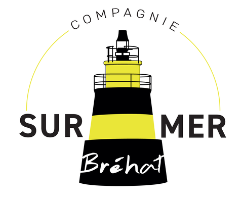 Nouveau logo Compagnie Sur Mer Bréhat