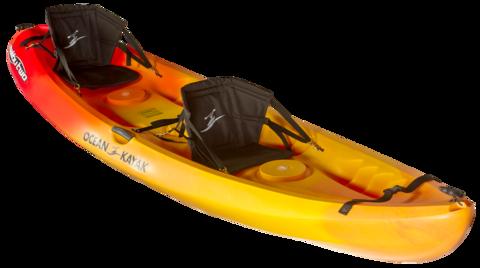 Kayak biplace, avec Sur Mer Bréhat
