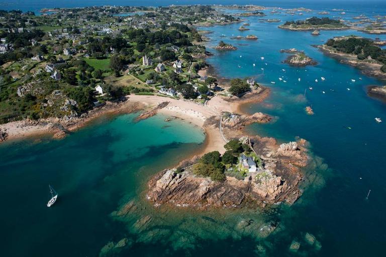 Photo Île-de-Bréhat, prestation Traversée directe Île de Bréhat, Compagnie Sur Mer Bréhat