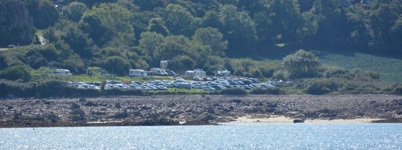 Aire de camping car de la Pointe de l'Arcouest, 600 places, 22620 Ploubazlanec