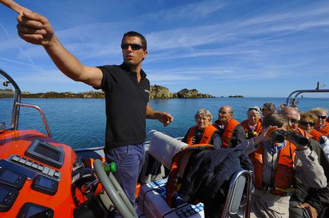 Billetterie en ligne, prestation Tour de l'Île Excursion, Compagnie Sur Mer Bréhat